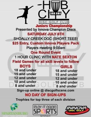 HCDGC Juniors Championship graphic