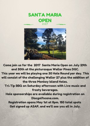 The Santa Maria Open Presented By DGA graphic