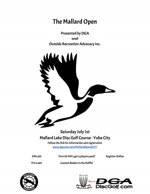 North Valley Series: The Mallard Lake Open presented by DGA graphic
