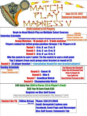 Match Play Madness V graphic