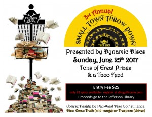 3rd Annual Small Town Throw Down graphic