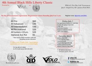 4th Annual Black Hills Liberty Classic graphic