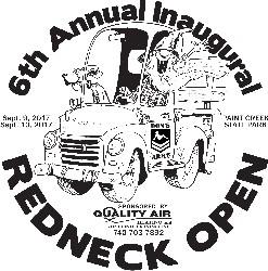 The 2017 REDNECK OPEN -Amateurs graphic