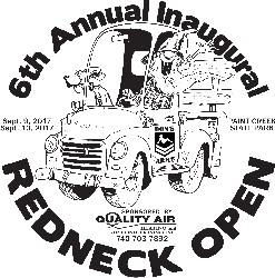 The 2017 REDNECK OPEN -Professionals graphic