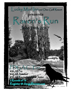 Lucky Mud presents Raven's Run graphic