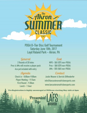 Akron Summer Classic II presented by LAFS graphic