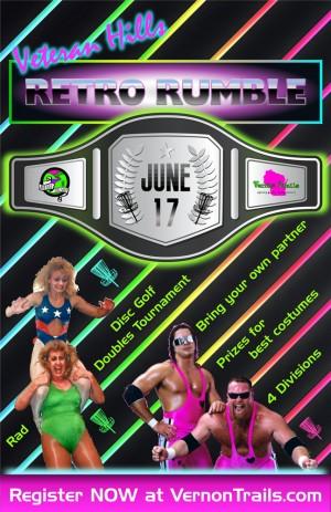Veteran Hills Retro Rumble BYOP Doubles Tournament graphic