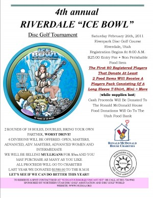 """4th Annual Riverdale """"ICE BOWL"""" graphic"""
