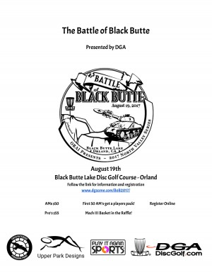 North Valley Series: Battle of Black Butte presented by DGA graphic