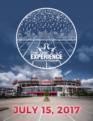Dynamic Discs Presents The 2017 Disc Golf Experience at Nissan Stadium graphic