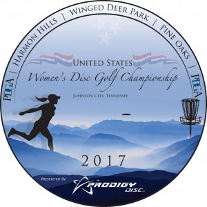 United States Women's Disc Golf Championships graphic