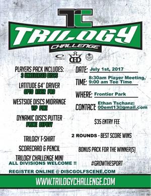 Frontier Park Trilogy Challenge graphic