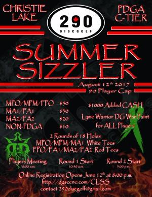 2017 Summer Sizzler graphic