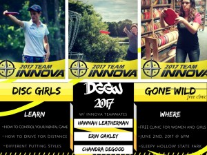 Women's Clinic with Hannah Leatherman graphic