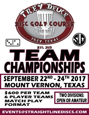 Trey Deuce Team Championships graphic