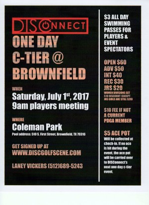 DISConnect One Day C-tier @ Brownfield graphic