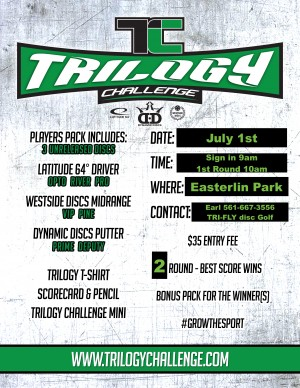 Easterlin Park Trilogy Challenge presented by TRI-FLY Disc Golf graphic