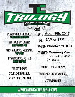 2017 Fresno Trilogy Challenge graphic