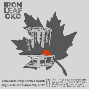 IRON LEAF ... goes to the lake graphic