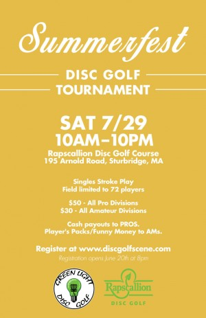 Rapscallion SummerFest - Disc Golf Tournament graphic
