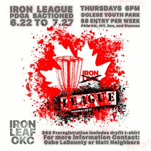 IRON LEAGUE Kick-Off summer 2017 graphic