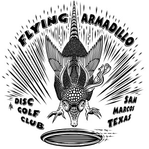 First Annual Flying Armadillo Open graphic
