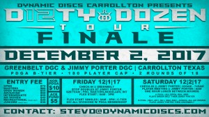 Dynamic Discs Presents the Carrollton Hyzer Olympics - The Dirty Dozen Tour Finale graphic
