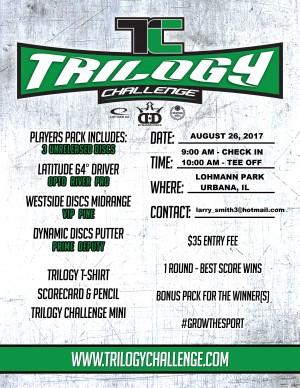 Lohmann Park Trilogy Challenge - Urbana, IL graphic