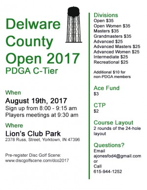 Delaware County Open graphic