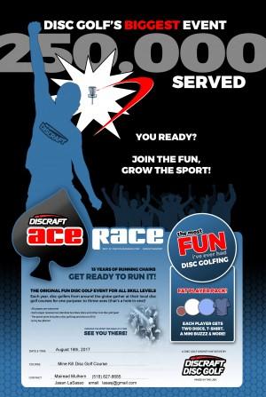 4th Annual Mine Kill Ace Race graphic