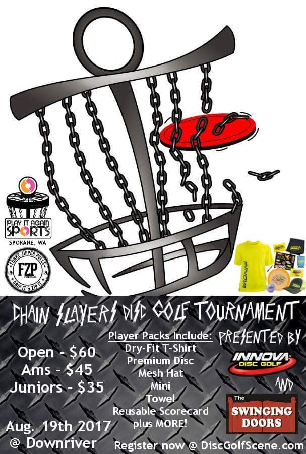 ChainSlayers Open Presented by innova and swinging doors graphic  sc 1 st  Disc Golf Scene & ChainSlayers Open Presented by innova and swinging doors (2017 ... pezcame.com