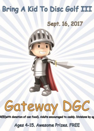 Bring A Kid To Disc Golf III (Reg. On FaceBook) graphic