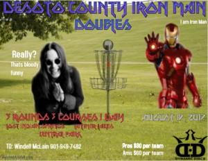 Desoto County Iron Man graphic
