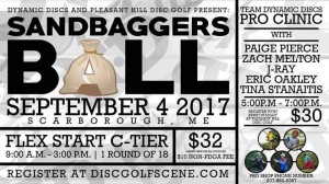 Sandbagger Ball-Presented by Dynamic Discs and Pleasant Hill Disc Golf graphic