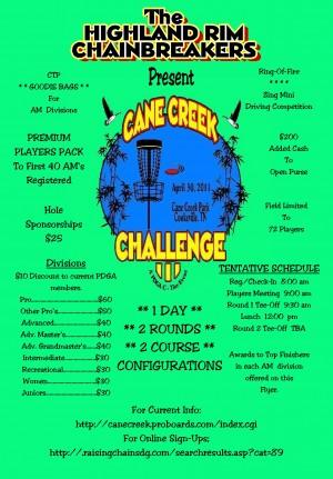 Cane Creek Challenge III graphic