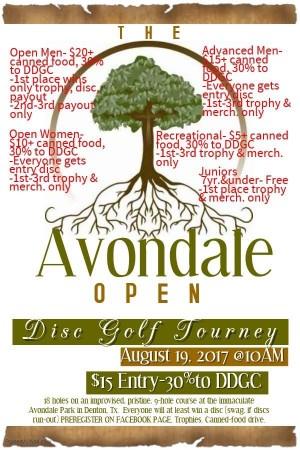 The Avondale Open graphic