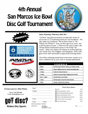 4th Annual San Marcos Ice Bowl graphic