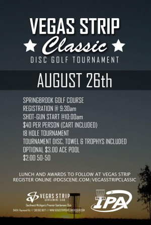 2nd Annual Vegas Strip Classic graphic