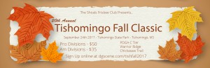 20th Annual Tishomingo Fall Classic graphic