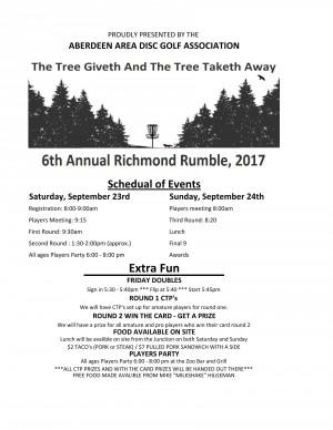 6th Annual Richmond Rumble graphic