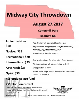 Midway City Throwdown graphic