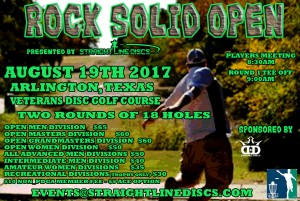 Rock Solid Open - Throw the Line Tour Event graphic