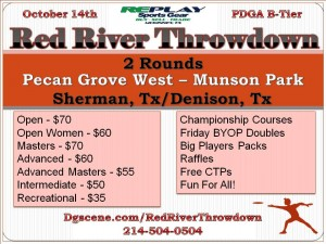 Replay Sports Gear Presents The Red River Throwdown graphic