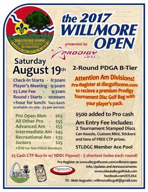 Willmore Open - City of St. Louis Open graphic