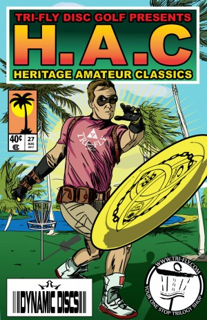 Heritage Amateur Classic Presented by TRI-FLY Disc Golf graphic