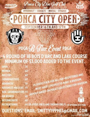 Ponca City Open graphic