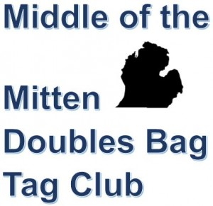 Middle Of The Mitten Doubles Bag Tags Tournament #9 graphic
