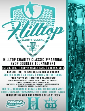 2017 Hilltop Charity Classic graphic