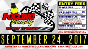 MrDiscGolf's Pocono Raceway Disc Golf Experience presented by Dynamic Discs graphic