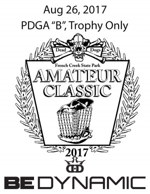 French Creek Amateur Classic, sponsored by Dynamic Discs graphic